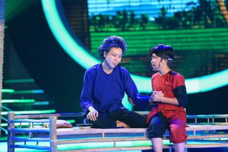 Hoai Linh rot nuoc mat vi phien ban nhi cua NSUT Thanh Sang - Anh 1