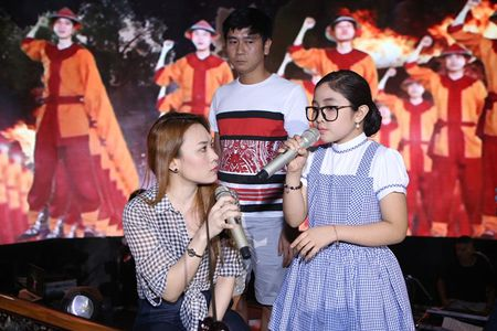 My Tam, Thu Minh an mac gian di di tap The Voice Kids - Anh 2