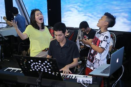 My Tam, Thu Minh an mac gian di di tap The Voice Kids - Anh 5