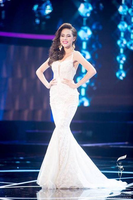 Dam da hoi cua Le Quyen ghi diem o Miss Grand International - Anh 1