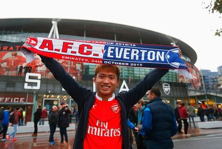 Ha Everton 2-1, Arsenal vuon len dan dau Ngoai hang Anh - Anh 10