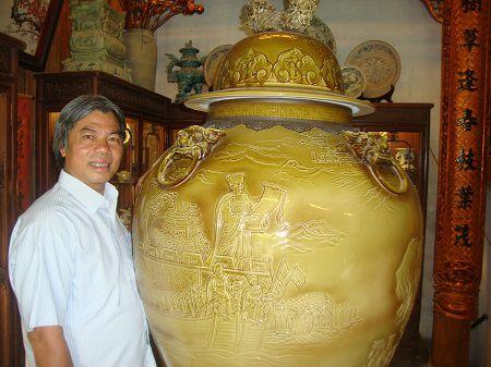 Nghe nhan uu tu To Thanh Son: Vu tru thu vao mot chen con - Anh 2