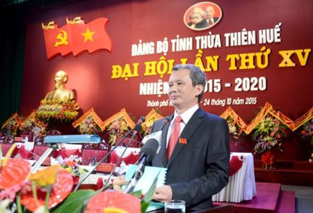 Ong Le Truong Luu tai dac cu Bi thu Tinh uy Thua Thien – Hue - Anh 1
