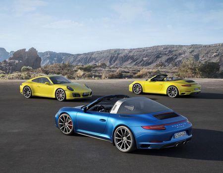 "Porsche ""chap them canh"" cho sieu xe 911 - Anh 1"