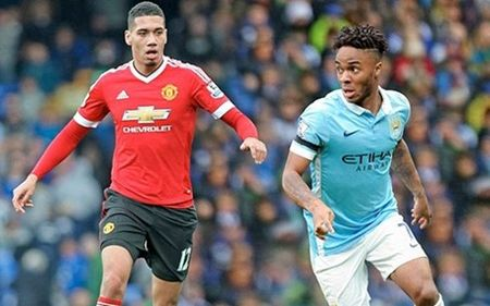 """Dai chien """"xanh – do"""" thanh Manchester: Diem """"nong"""" Smalling–Sterling - Anh 4"""