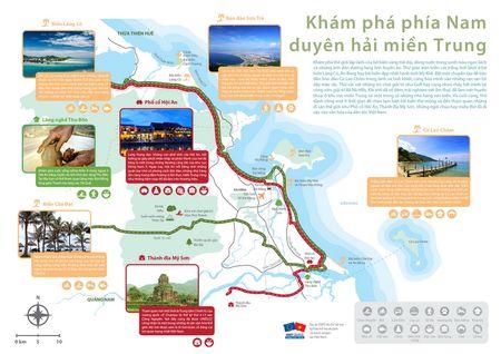 Cong bo ban do san pham du lich 3 tinh mien Trung - Anh 1