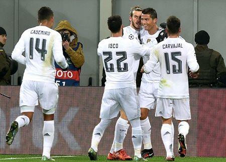 """Cristiano Ronaldo """"quay"""" tung bung mung ban thang - Anh 5"""