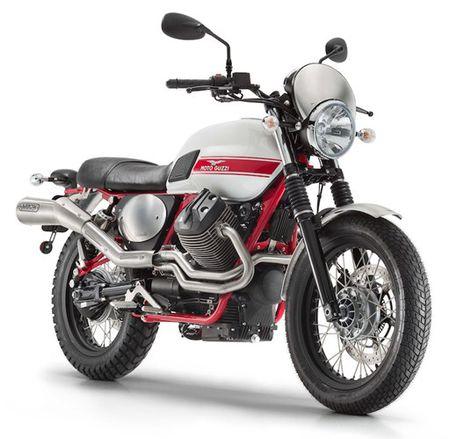 Moto Guzzi cong bo Scrambler V7II Stornello moi - Anh 1