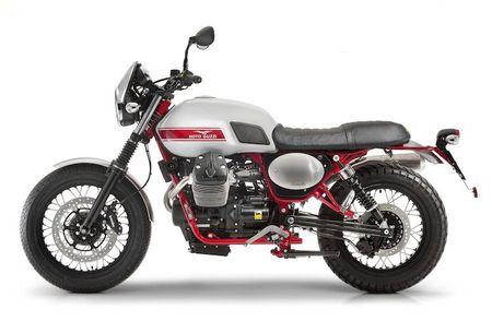 Moto Guzzi cong bo Scrambler V7II Stornello moi - Anh 8
