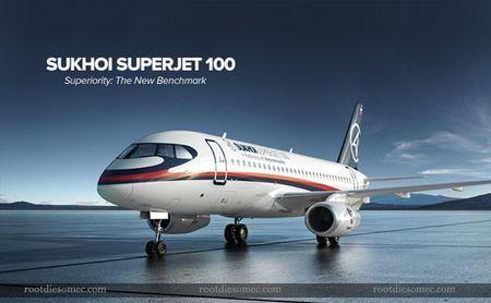 Soi may bay Sukhoi Superjet 100 Nga sap cung cap cho Viet Nam - Anh 9