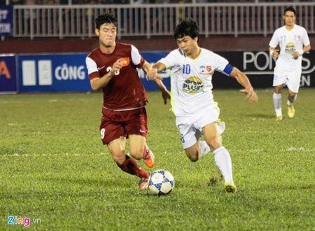 Thang U21 VN tren cham 11m, U21 HAGL vao da chung ket - Anh 1