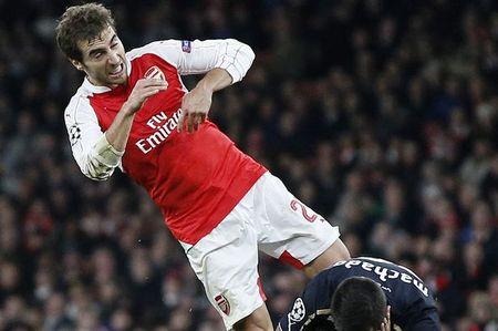 """Flamini thua nhan minh phai no luc de """"cuu"""" Arsenal - Anh 1"""