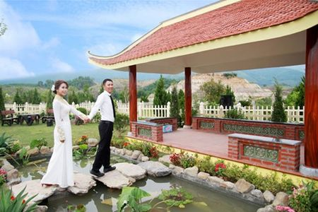 Nhung y tuong chup anh cuoi doc nhat vo nhi - Anh 3
