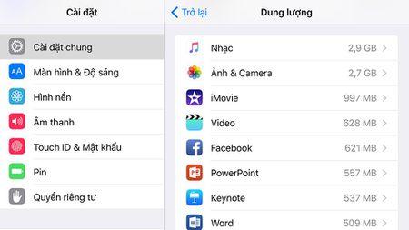 "[Chia se] Lam the nao de ""song chung"" voi iPhone, iPad dung luong 16GB? - Anh 2"