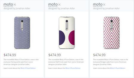 Dat mua truoc Motorola Moto X Pure phien ban dac biet voi gia 10 trieu dong - Anh 3
