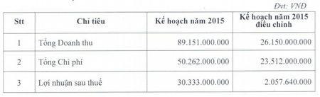 IVS dieu chinh giam hon 93% ke hoach loi nhuan nam 2015 - Anh 1