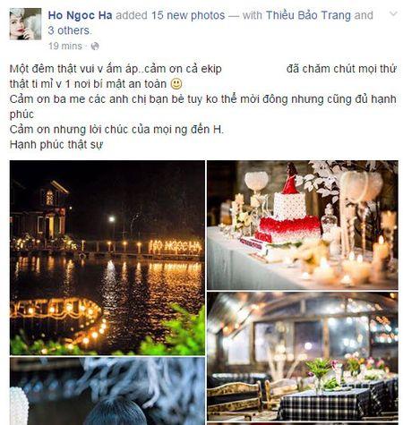 Choang voi bua tiec sinh nhat sang chanh cua Ho Ha - Anh 1