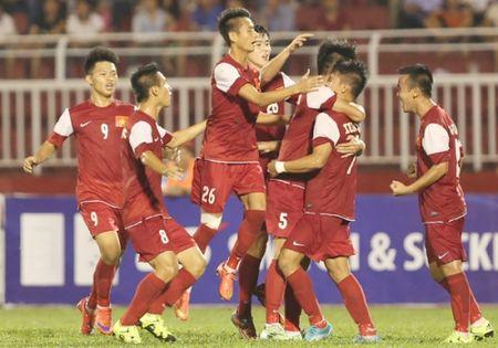 Video giai U21 Quoc te: U21 HAGL 2-2 U21 Viet Nam (pen: 3-2) - Anh 1
