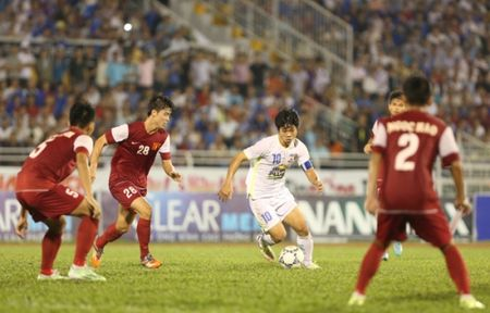 Video giai U21 Quoc te: U21 HAGL 2-2 U21 Viet Nam (pen: 3-2) - Anh 2