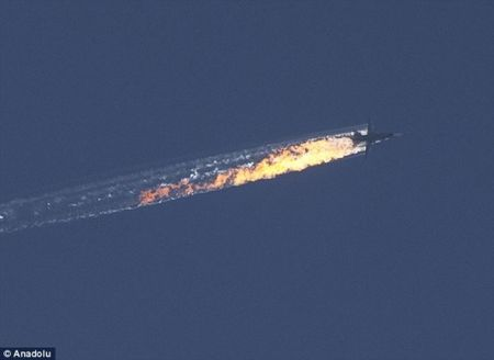 Nga oanh tac du doi gan bien gioi Tho Nhi Ky sau vu Su-24 bi ban roi - Anh 1