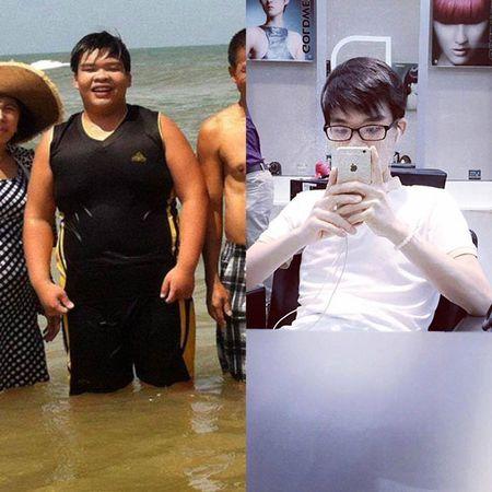 Sau sai lam giam can, chang trai 120kg lay lai voc dang voi 72kg - Anh 1