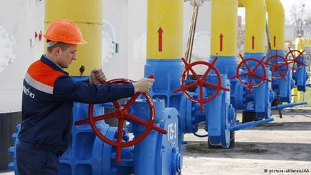 Gazprom ngung cung cap khi dot cho Ukraine - Anh 1