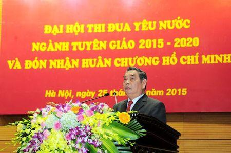 Ban Tuyen giao Trung uong don nhan Huan chuong Ho Chi Minh - Anh 2