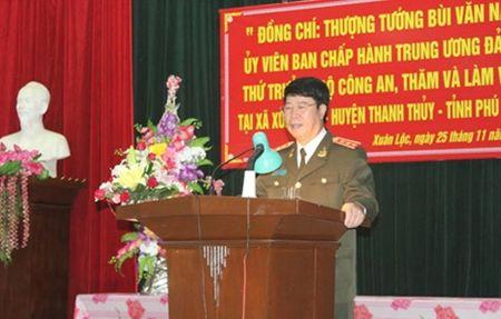 Thu truong Bui Van Nam lam viec tai Phu Tho - Anh 1