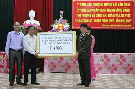 Thu truong Bui Van Nam lam viec tai Phu Tho - Anh 2