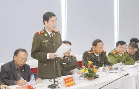 Giao ban cong tac bao chi, xuat ban Cong an nhan dan - Anh 1