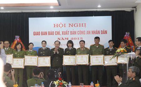 Giao ban cong tac bao chi, xuat ban Cong an nhan dan - Anh 3