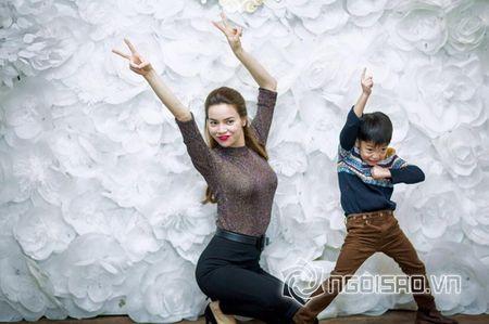 Ho Ngoc Ha to chuc sinh nhat am ap ben con trai Subeo - Anh 1