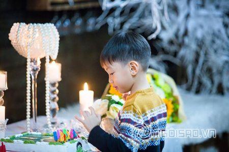Ho Ngoc Ha to chuc sinh nhat am ap ben con trai Subeo - Anh 2