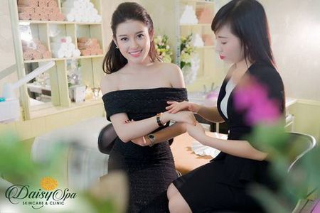 Nu doanh nhan, dai su thuong hieu my pham Vivant Joie do sac cung a hau Huyen My - Anh 4
