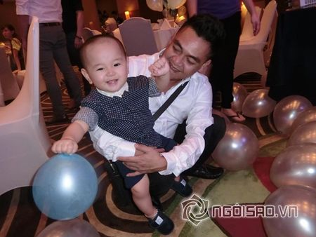 Ha Kieu Anh, Tra My Idol ron rang to chuc tiec sinh nhat cho con - Anh 12