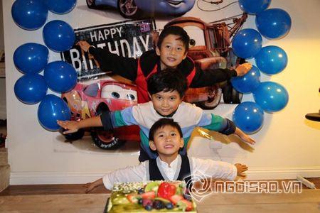 Ha Kieu Anh, Tra My Idol ron rang to chuc tiec sinh nhat cho con - Anh 8