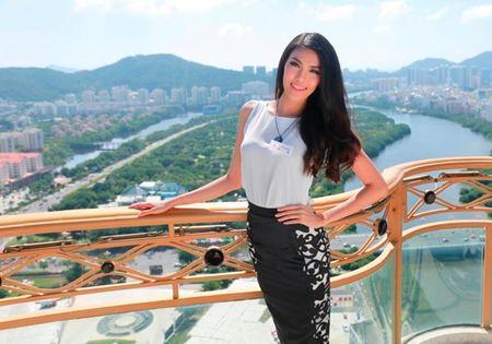 Lan Khue co co hoi lot thang vao top ung xu Hoa hau The gioi - Anh 3