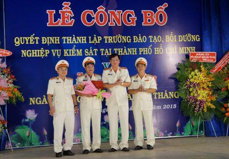 Cong bo quyet dinh thanh lap Truong dao tao, boi duong nghiep vu kiem sat tai TP. Ho Chi Minh - Anh 1