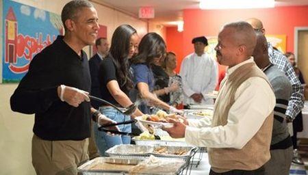 Obama dich than to chuc Le ta on cung cuu binh My - Anh 1