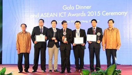 18 san pham nhan giai ASEAN ICT AWARDS 2015 - Anh 1