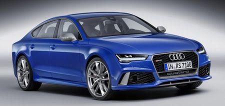So tai toc do giua Audi RS7 va thang may cua toa nha cao nhat the gioi - Anh 2