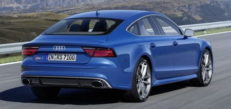 So tai toc do giua Audi RS7 va thang may cua toa nha cao nhat the gioi - Anh 3