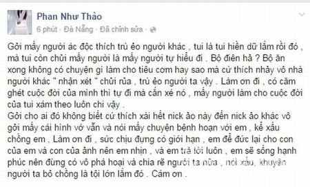 "Phan Nhu Thao va chong ""canh cao"" Ngoc Thuy - Anh 2"