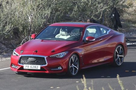 Hinh anh nong lo dien Infiniti Q60 Coupe 2017 - Anh 1