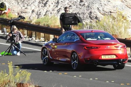 Hinh anh nong lo dien Infiniti Q60 Coupe 2017 - Anh 2