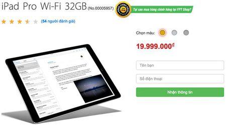 iPad Pro chinh hang gia 20 trieu, ban tu thang 12 - Anh 2