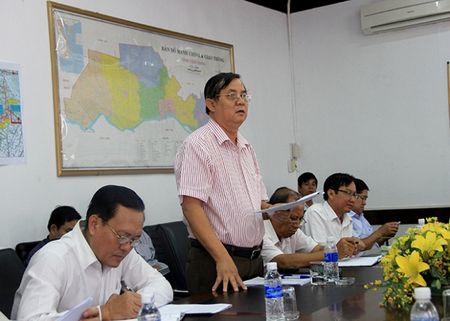 Cao toc Trung Luong - My Thuan cham tien do do vuong mat bang - Anh 1