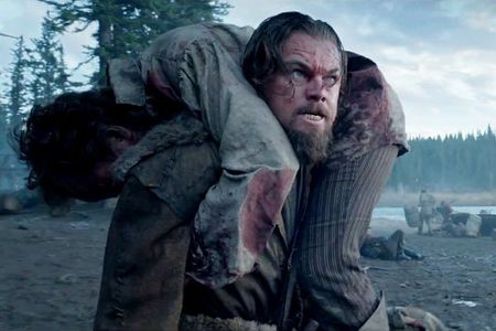 Leo DiCaprio an thit song trong phim thu thach nhat su nghiep - Anh 1