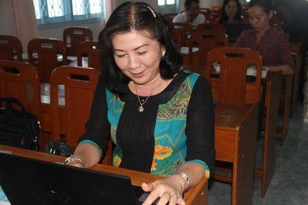 LDLD tinh Vinh Long va Bao Lao Dong mo lop tap huan viet bao - Anh 4
