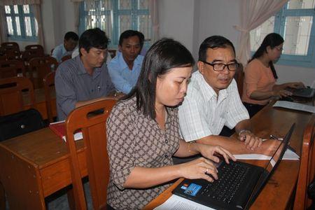 LDLD tinh Vinh Long va Bao Lao Dong mo lop tap huan viet bao - Anh 5